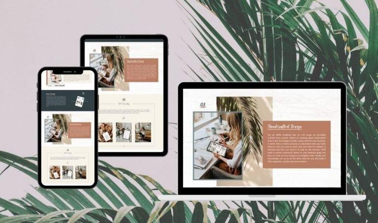 Site Creative Marketing, Custom Website