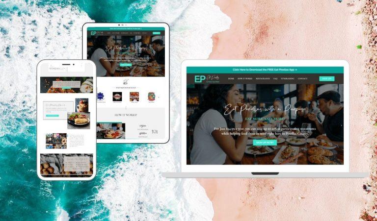 Site Creative Marketing, Restaurant, Custom Website